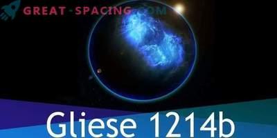 L'esopianeta di Gliese 1214b consiste interamente di acqua, ma c'è vita