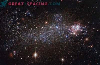 Hubble beobachtet die atemberaubende irreguläre Galaxie