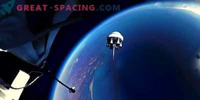 Video: Stratosphärischer Ball schickt eine Rakete ins All