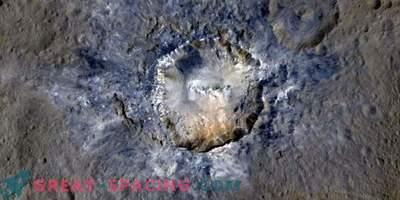 Isoleerimine kraatrites võib viidata pinnaveele
