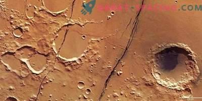 Frische Mars-Tektonik: tiefe Verwerfungen auf dem Roten Planeten