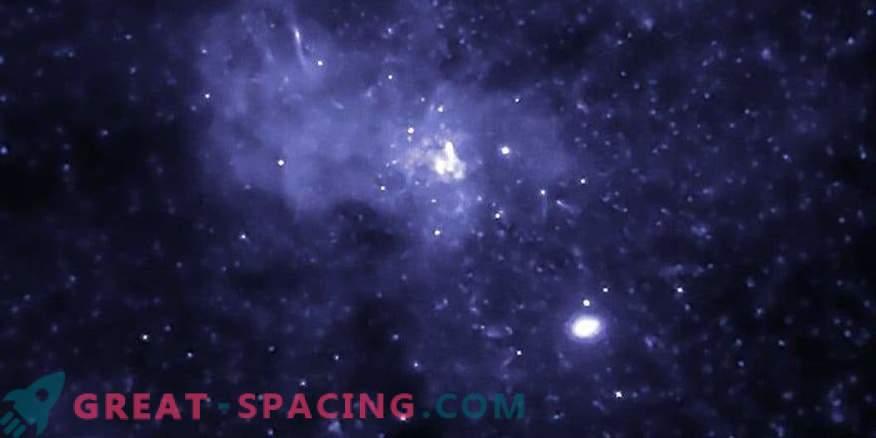 Schwarzes Loch im galaktischen Zentrum