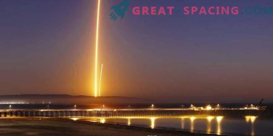 Erfolgreicher Start des Satelliten und Landung der SpaceX-Rakete