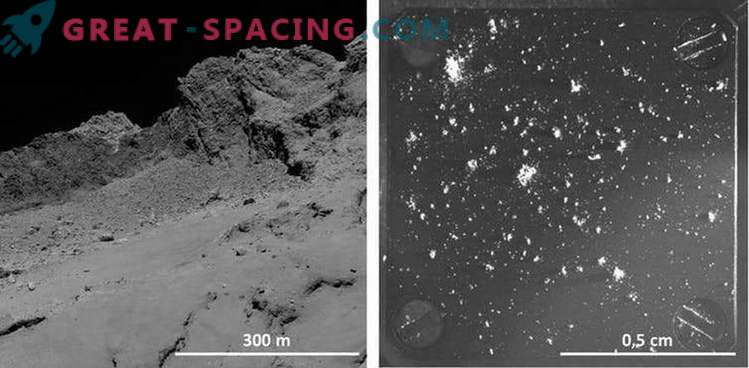 Kometenstaub enthüllt die Geschichte des Sonnensystems