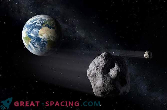 Ein mittelgroßer Asteroid kann zur Eiszeit führen.