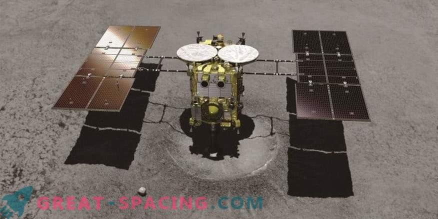Hayabusa-2 schießt erneut einen Asteroiden auf der Suche nach alten Proben.