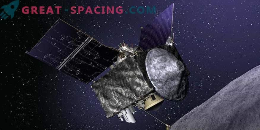 Erste ungefähre Fotos des fernen Asteroiden Bennu