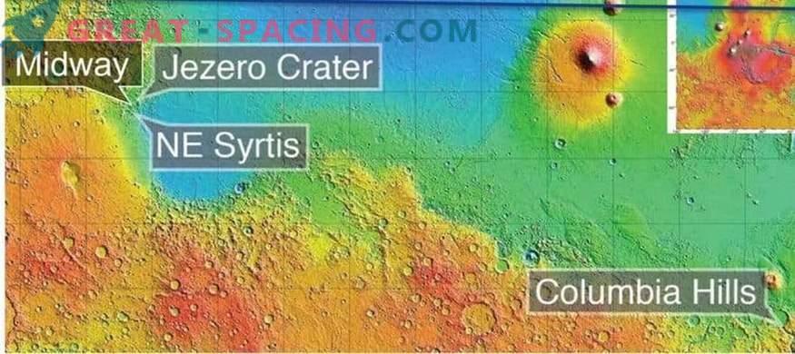 Wo wird der nächste Marsrover landen?
