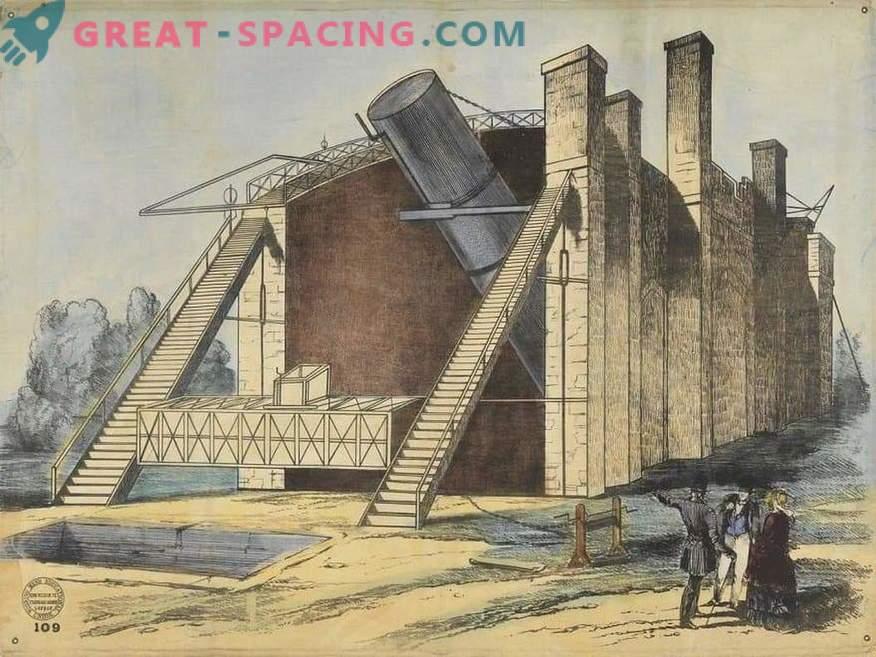 Was wie das größte Teleskop zu Beginn des 20. Jahrhunderts aussah, Leviathan