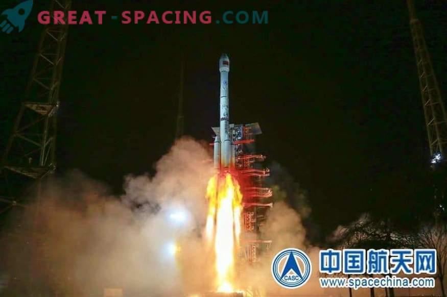 China hat in diesem Jahr zwei Raketen abgefeuert und 5 Satelliten in die Umlaufbahn gebracht.