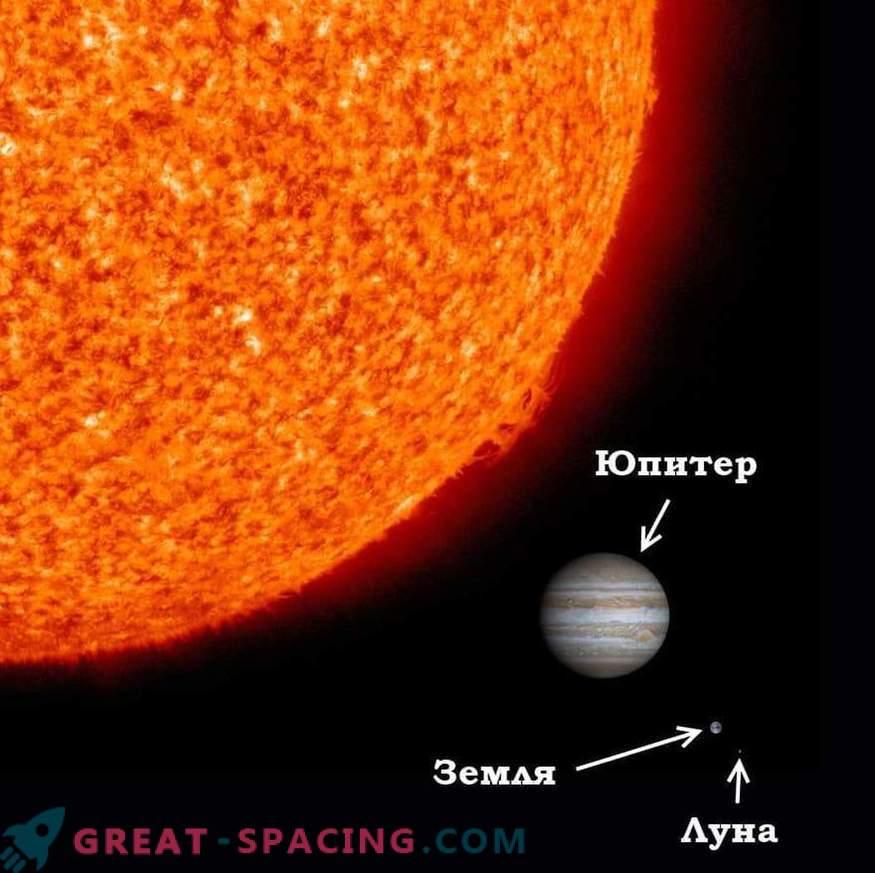 ¿Qué pasaría si el Sol fuera más pequeño que la Tierra