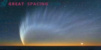 Die Geschichte der Ankunft eines ungewöhnlichen Kometen Shezo mit sechs Schwänzen