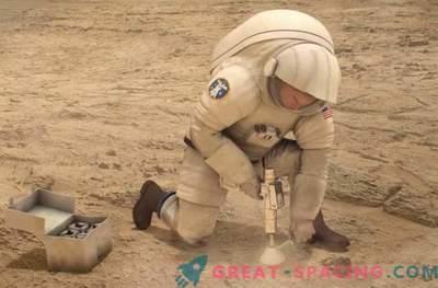 High-Tech-Gaze der NASA kann verwundete Mars-Astronauten heilen