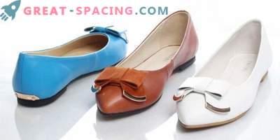 Schuhe für Damenbogen auswählen