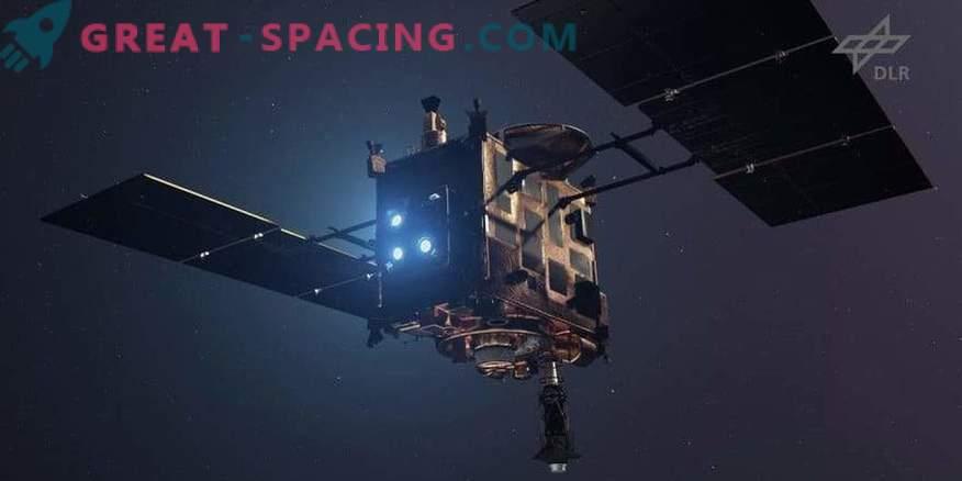 Die japanische Sonde hat den Asteroiden erreicht