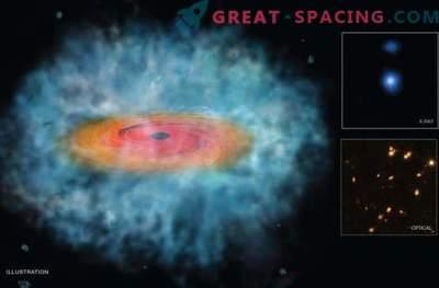 Kollabierende kosmische Wolken erzeugen monströse schwarze Löcher