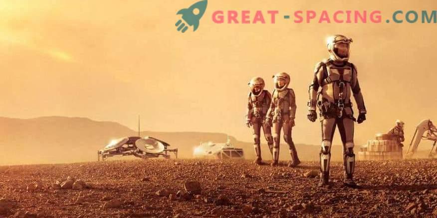 Die Menschheit könnte den Mars vor Jahrzehnten kolonisieren.