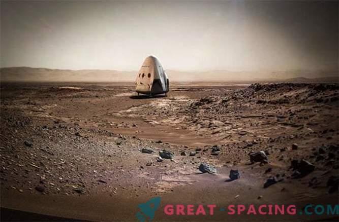 Space X wird 2018 eine Mission zum Mars senden
