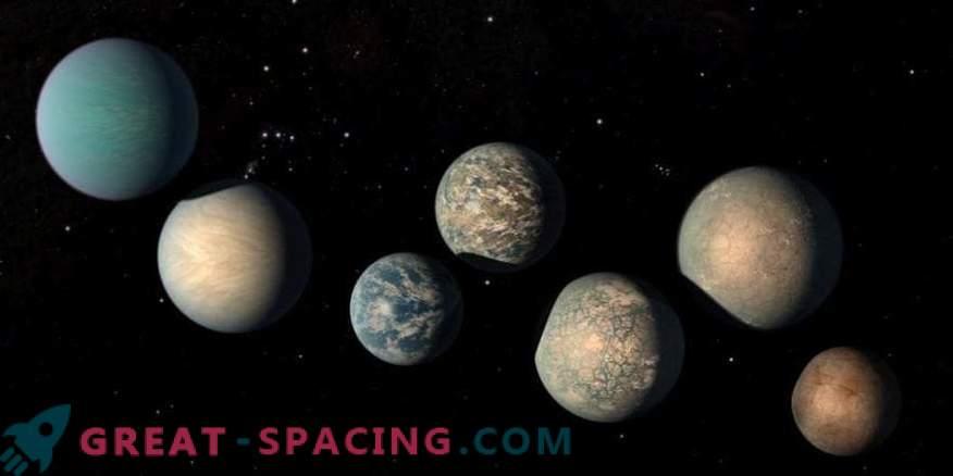 Auf den Exoplaneten TRAPPIST-1 befindet sich möglicherweise zu viel Wasser.