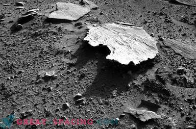 Mars Rover Curiosity entdeckte
