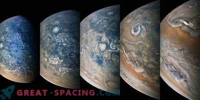 Atemberaubender Blick nördlich von Jupiter