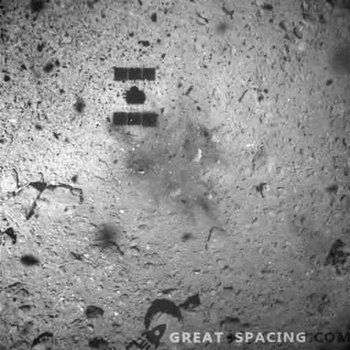 Warum schießt Hayabusa-2 einen Asteroiden?