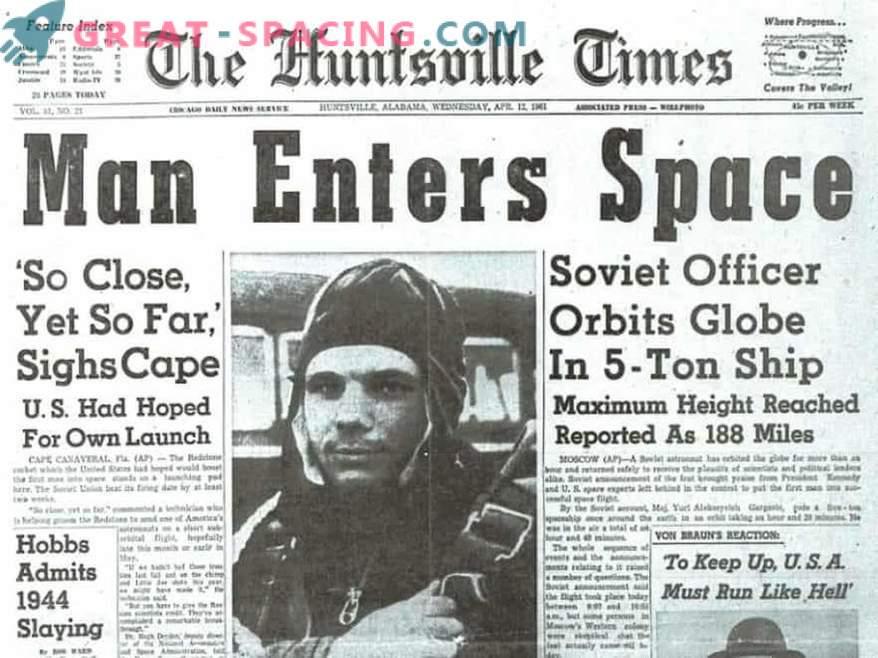 Vor 50 Jahren starb Yuri Gagarin.