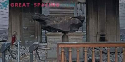 Der größte brasilianische Meteorit hat einen schweren Brand überstanden.