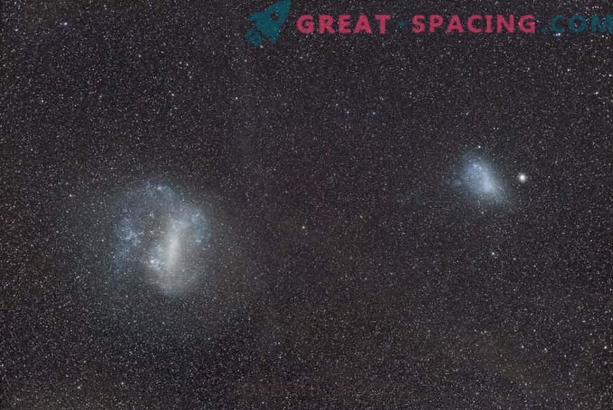 Magellansche Wolken - kein Duett, sondern ein Trio?
