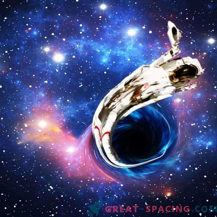 Was wirst du sehen, wenn du in ein schwarzes Loch fällst?