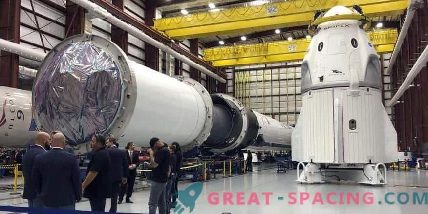 NASA und SpaceX bereiten sich auf den Teststart im März vor