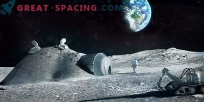 Wie werden die Kolonien auf dem Mond aussehen? Wir bieten 3 Optionen an