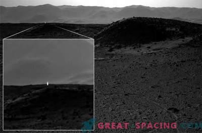 Das mystische Licht wurde vom NASA Curiosity Rover eingefangen.