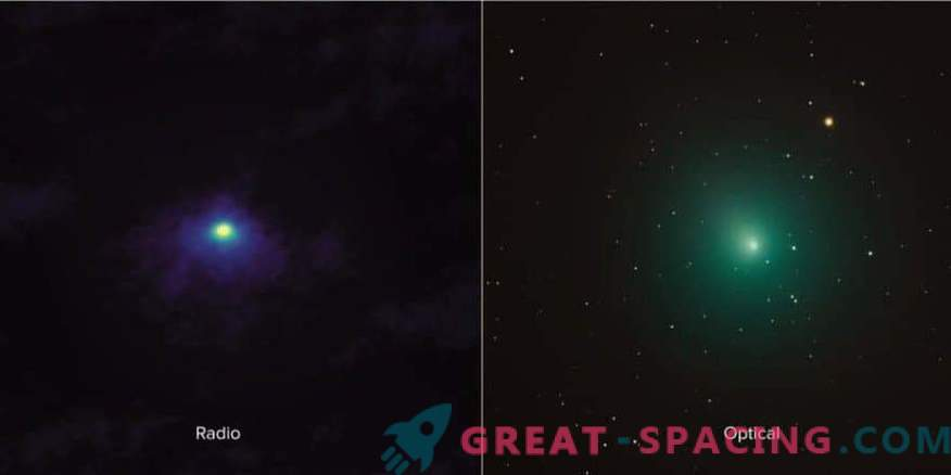 Nahaufnahme des Kometen 46P / Virtanen von ALMA
