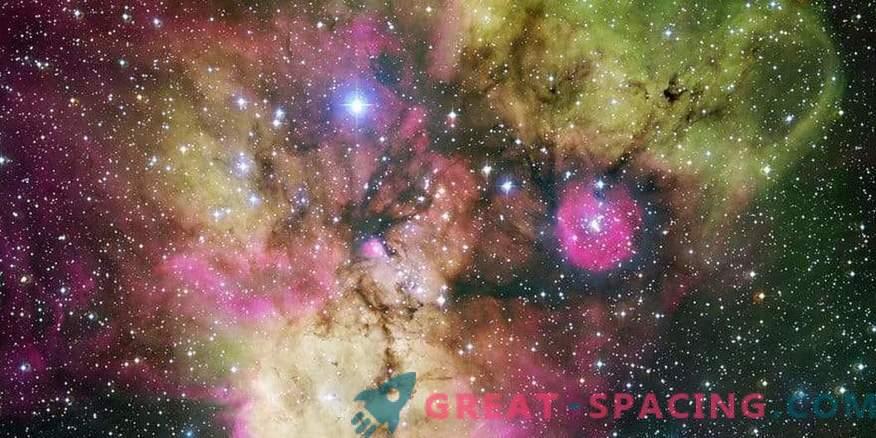 Piraten werden im Weltraum gezüchtet! Bewundern Sie den Schädel-Knochen-Nebel
