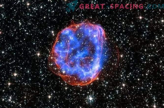 Die himmlische Weihnachtskugel ist eigentlich ein Supernova-Überrest.