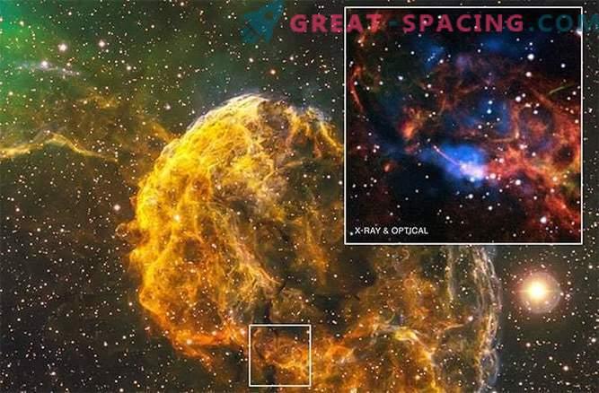 Der mysteriöse Pulsar und der mysteriöse Nebel werden aus einer Supernova geboren.