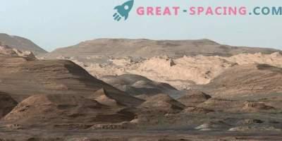 Curiosity Rover lüftet das Geheimnis der Marsberge