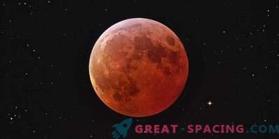 Blauer Mond, Supermond und totale Mondfinsternis
