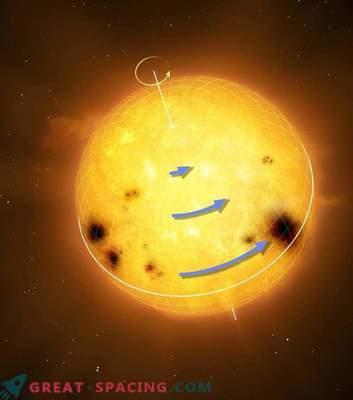 Das Geheimnis der Rotation der Sterne des Sonnentyps: Was unterscheidet sich von der Sonne?