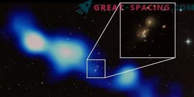 Indische Astronomen haben eine riesige Radiogalaxie gefunden