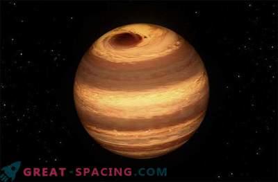 """Großer Jupiter - wie ein Sturm auf einem kalten """"gescheiterten Stern"""" tobt"""
