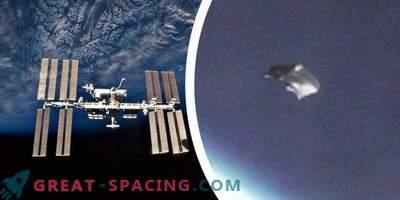 """Unbekanntes Objekt oder """"kosmische Schuppen in der Nähe der ISS. Meinung von Experten und Ufologen"""