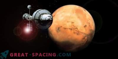 Flug zum Mars - einfache Fahrt