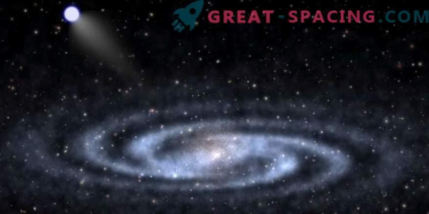 Wissenschaftler haben zwei entfernte Sterne mit Hypergeschwindigkeit gefunden