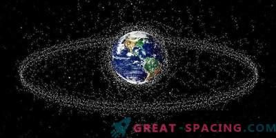 Nicht alles ist so reibungslos mit dem Weltraummüll-Reinigungssystem