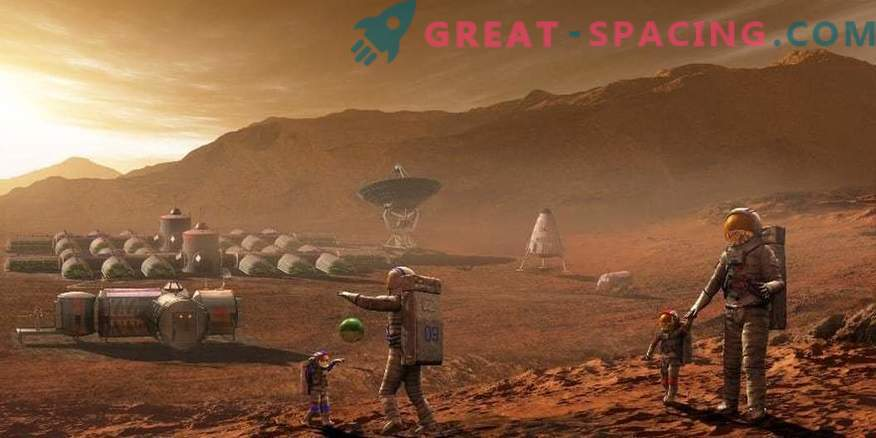 Ilon Musk bietet an, eine Roboterkolonie zum Mars zu schicken