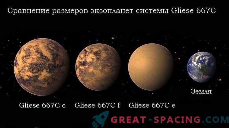 Außerirdische Zivilisation kann auf dem Planeten Gliese 667C leben