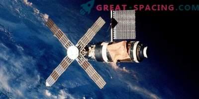 Was ist mit der ersten amerikanischen Skylab-Orbitalstation passiert?