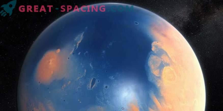 Mars-Seen könnten die Heimat antiker Organismen sein.